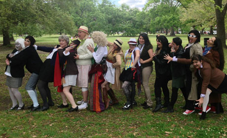 Femme Doctor Photo Shoot in Audubon Park